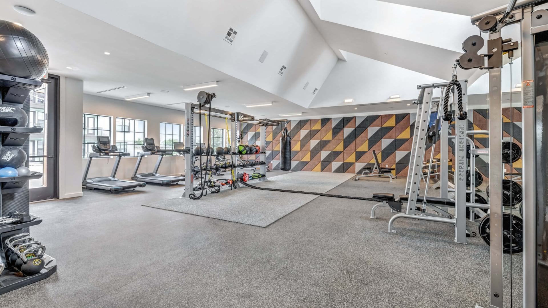 Fitness Center with modern equipment